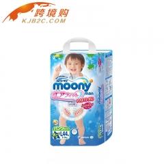 日本 moony尤妮佳拉拉裤 L44 男宝宝  9-14kg