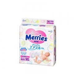 花王(Merries) 纸尿裤 NB90片 新生儿